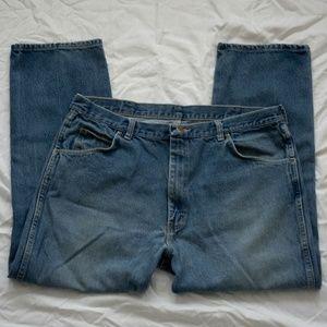 Men's Wrangler Jeans Straight Jeans Size 40